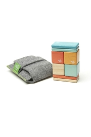 Tegu Pocket Pouch Sunset - Front cropped