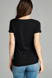 Active Basic pocket tee - Side cropped