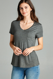 Active Basic pocket tee - Front cropped