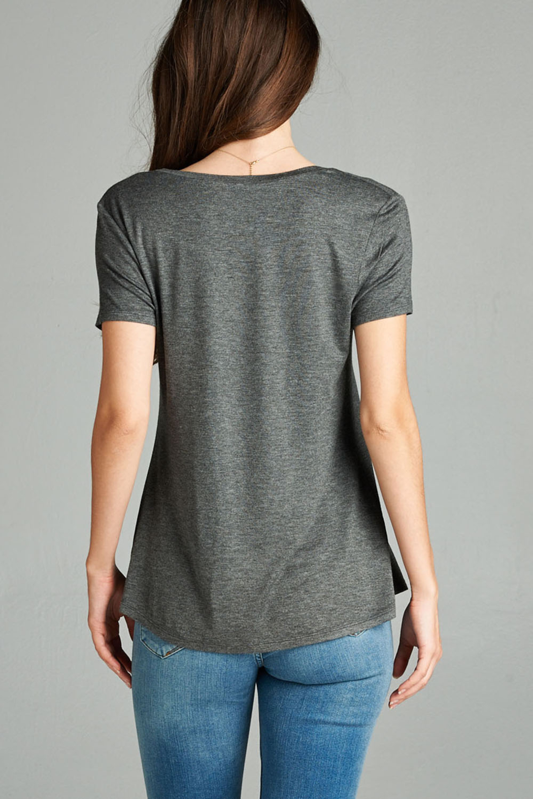 Active Basic pocket tee - Front Full Image