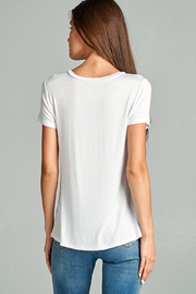Active Basic pocket tee - Front full body
