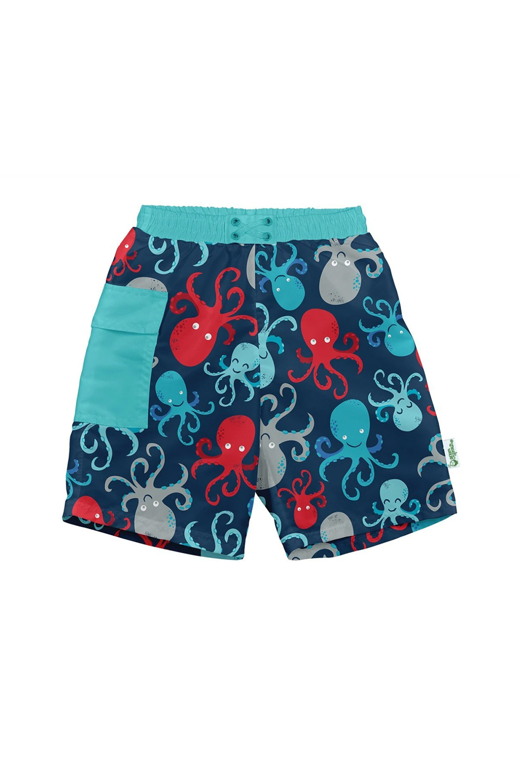 Green Sprouts Pocket Trunks with Built-in Reusable Absorbent Swim Diaper - Main Image