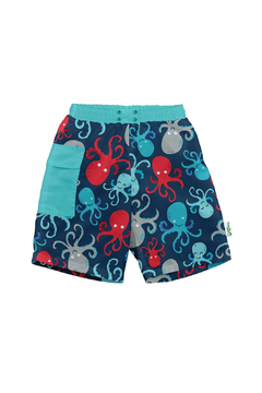 Shoptiques Product: Pocket Trunks with Built-in Reusable Absorbent Swim Diaper