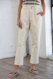 By Together Pocketed Straight Line Pants - Side cropped