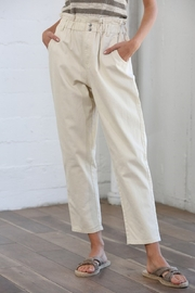 By Together Pocketed Straight Line Pants - Product Mini Image