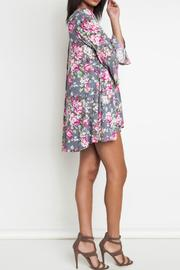 3496fb24ae5ce Poe and Arrows Floral Trapeze Dress from Texas by POE and Arrows ...