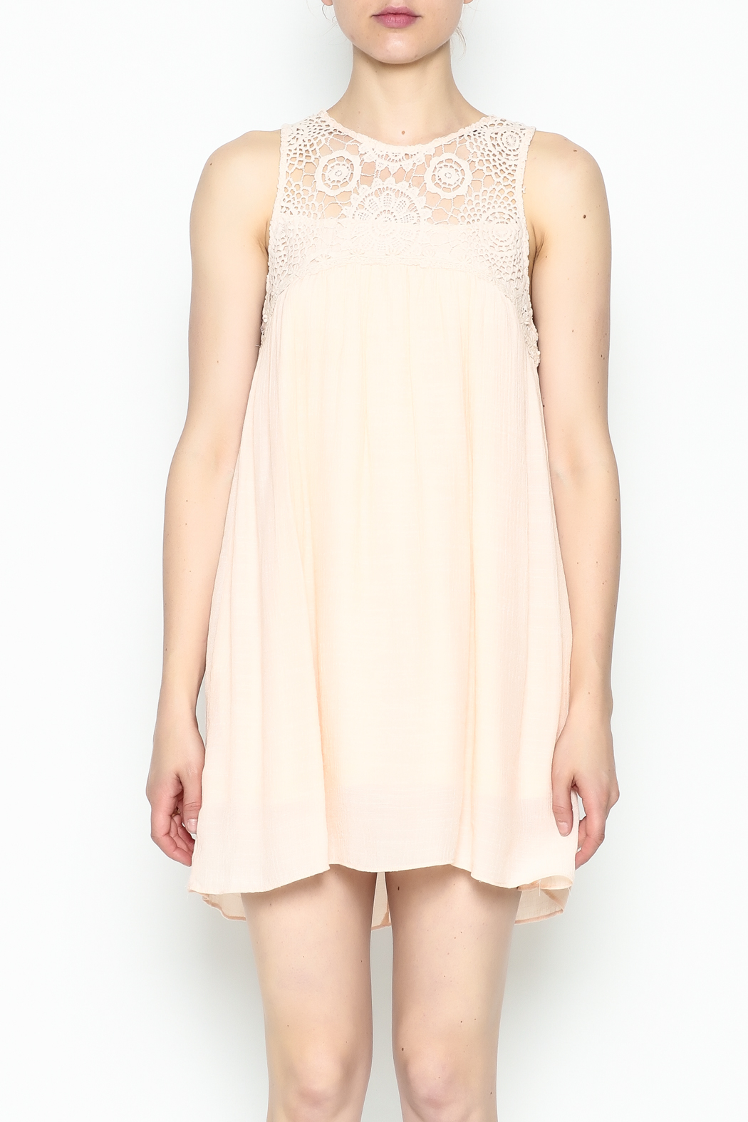 Poetry Lace Summer Dress - Front Full Image