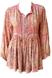 Spell & the Gypsy Collective Poinciana Blouse - Product Mini Image