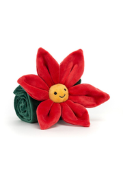 Jellycat  Poinsettia Soothre - Front full body