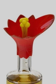 Charles Viancin Poinsettia Wine Pourer - Product Mini Image