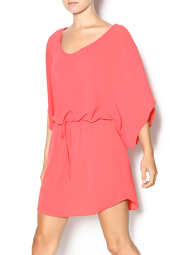 Point Drawstring Tunic Dress - Product List Image