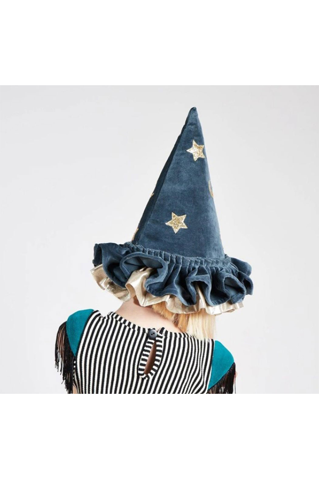 Maison A Pointed Blue Witch Hat - Main Image