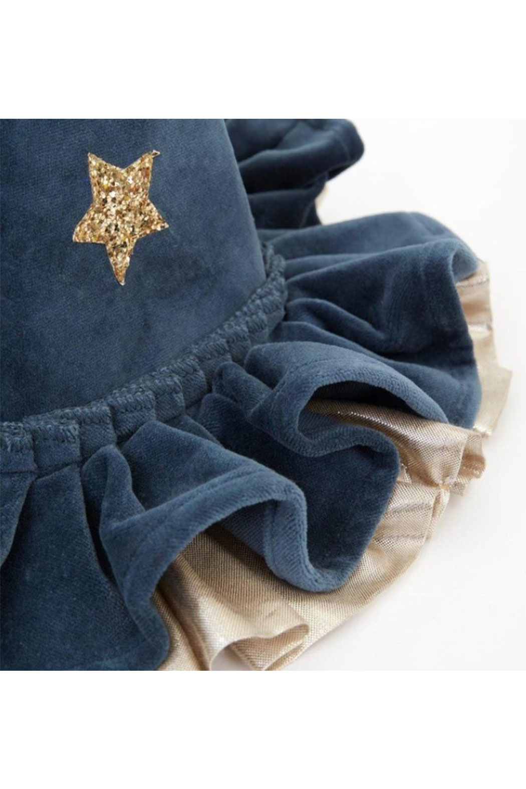 Maison A Pointed Blue Witch Hat - Front Full Image