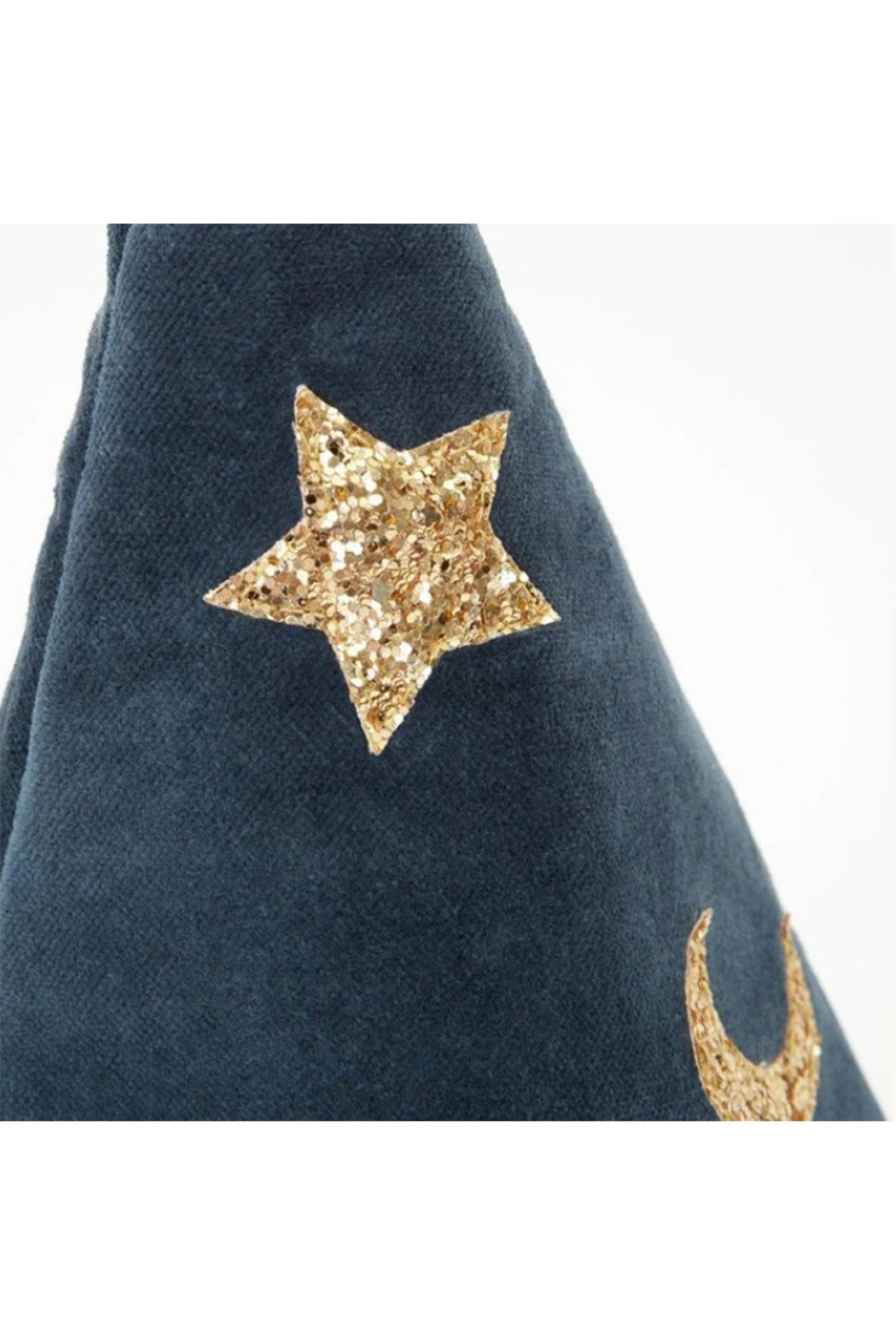 Maison A Pointed Blue Witch Hat - Side Cropped Image