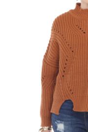 sisters Pointelle Crop Sweater - Other