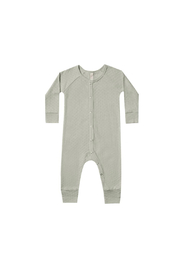 Quincy Mae Pointelle Long John - Sage - Product Mini Image