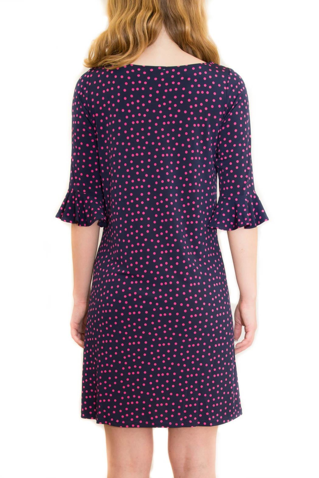Leota Poka Dot Dress - Side Cropped Image