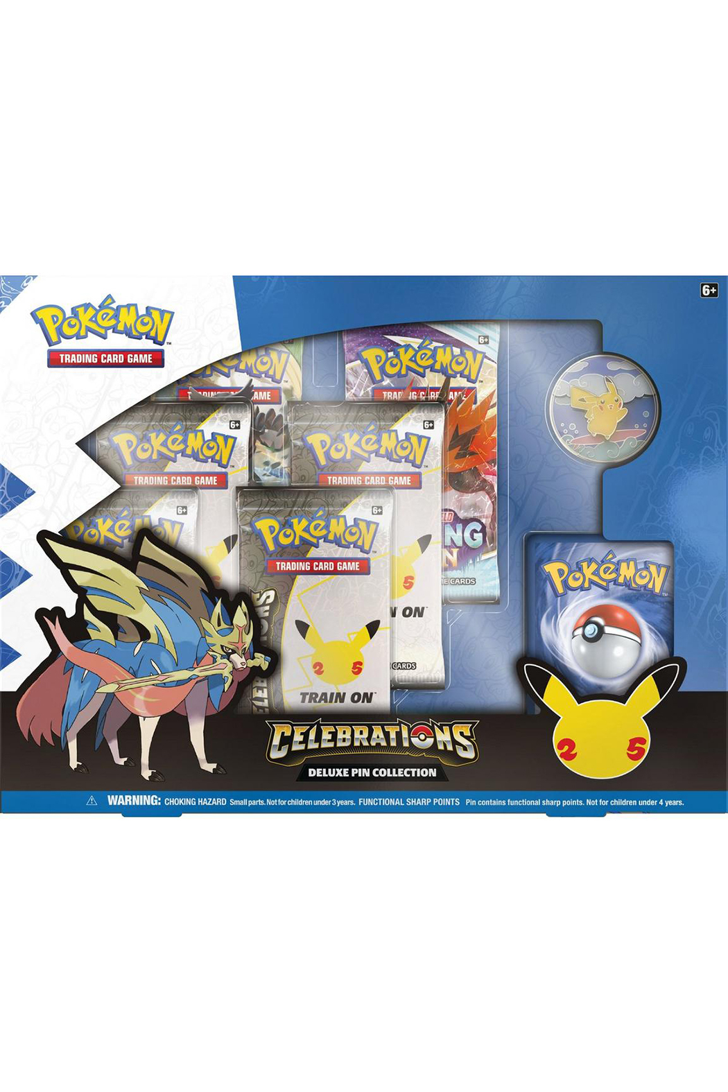 Pokemon Celebrations Deluxe Pin Collection - Main Image