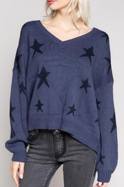 POL Big Dipper Star Sweater - Front cropped