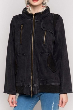 Shoptiques Product: Black Terry Jacket