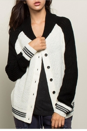 POL Black White Varsity - Product Mini Image