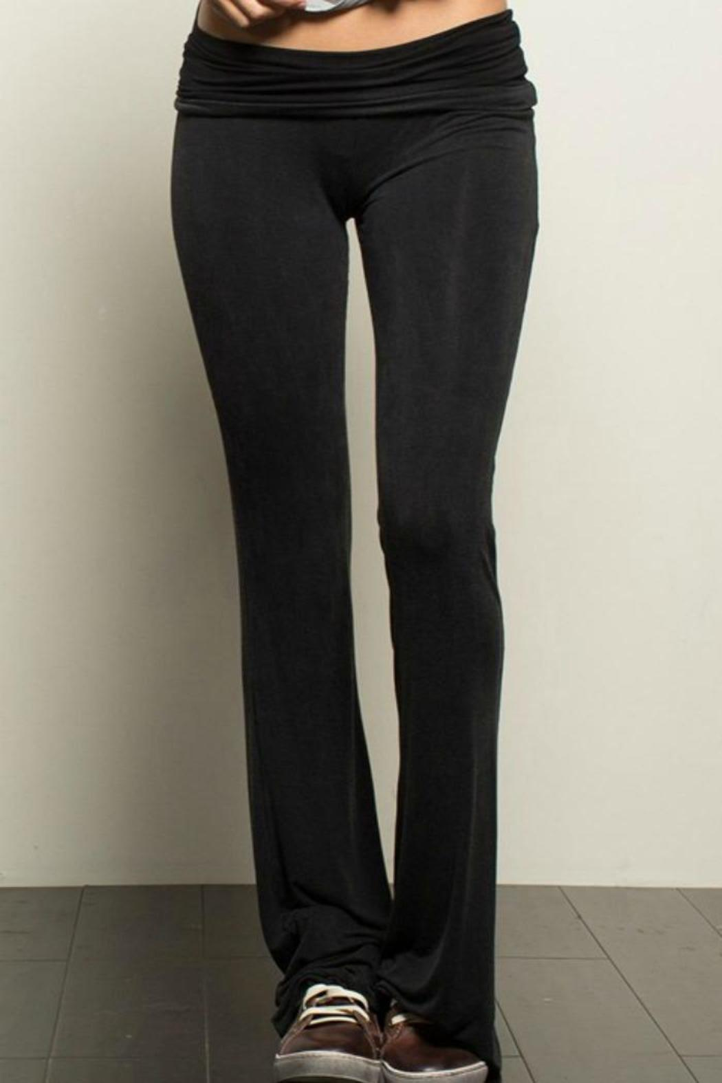 Pol Black Yoga Pants From New Jersey By Fly Girl Boutique