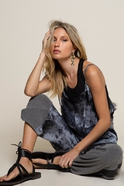 POL Blue Stone Jumpsuit - Front full body