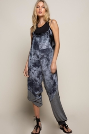 POL Blue Stone Jumpsuit - Front cropped