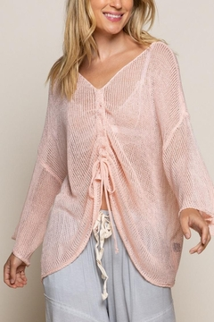 POL Blush String Front Top - Product List Image