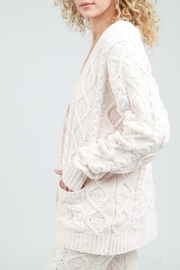 POL Cable Knit Cardigan - Product Mini Image