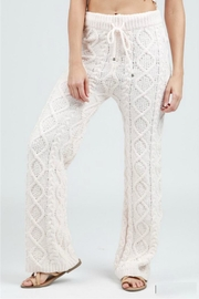 POL Cable Knit Pant - Front cropped