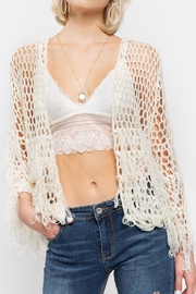 POL Cardigan Sweater - Front cropped