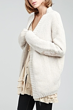 POL Chenille Cardigan - Product List Image