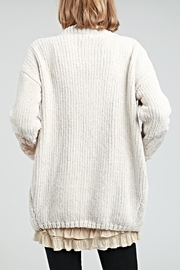 POL Chenille Cardigan - Front full body