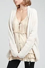 POL Chenille Cardigan - Side cropped