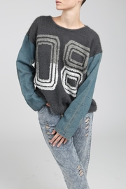 POL Chenille Sweater - Front cropped