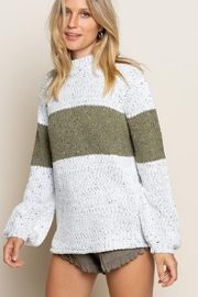 POL Chic Bold Stripe - Front cropped