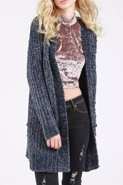 POL Chunky Knit Cardigan - Product Mini Image