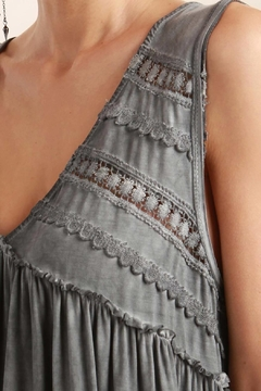 Shoptiques Product: Crochet Detail Top