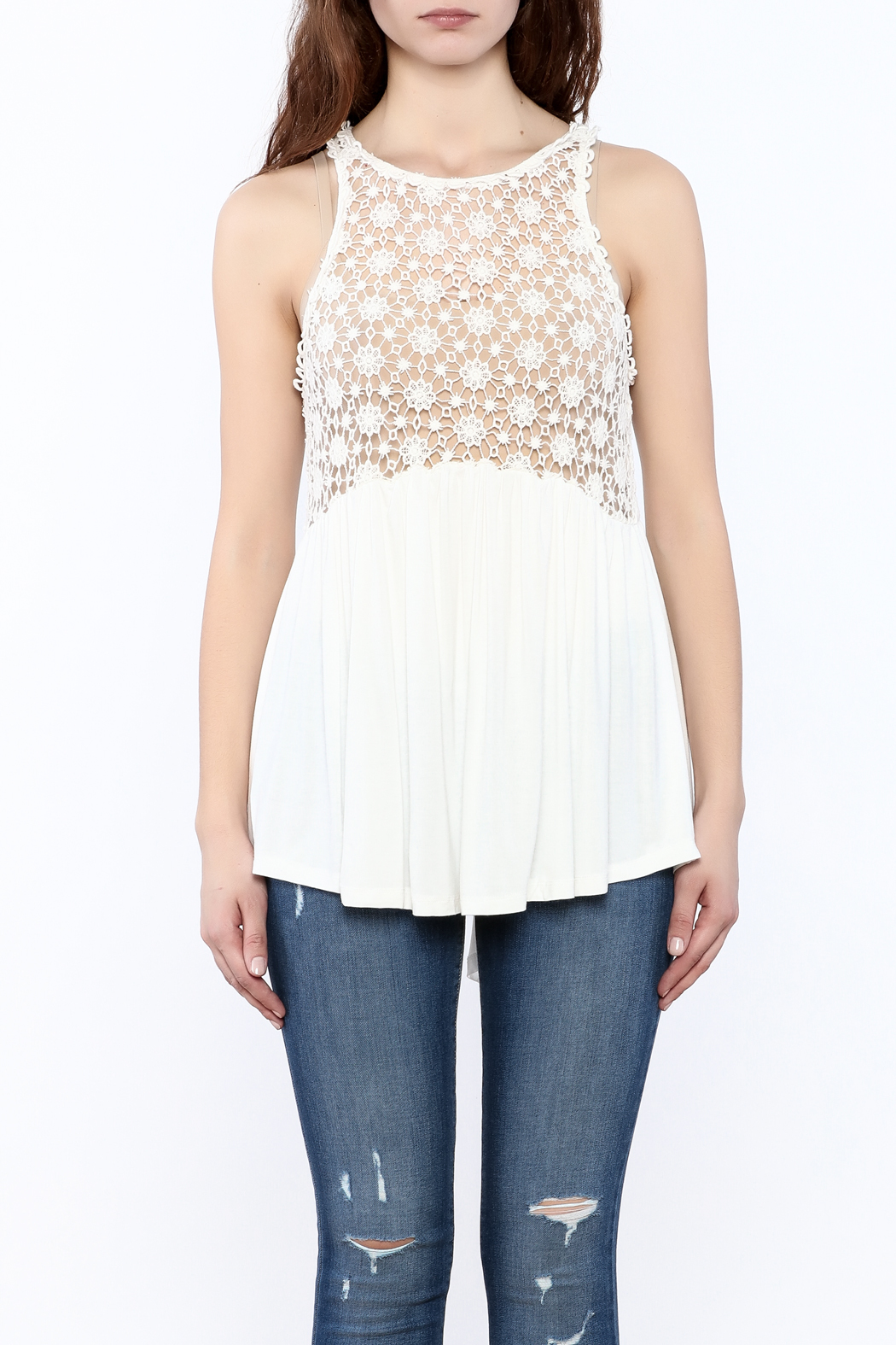 POL Crochet Tank Top from New York City by Dor L'Dor — Shoptiques