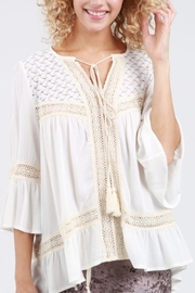 POL Crochet Top - Front cropped