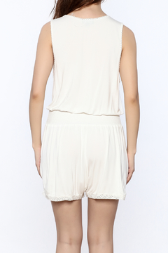 Shoptiques Product: Crochet Trim Romper