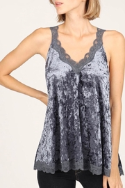 POL Crushed Velvet Top - Product Mini Image