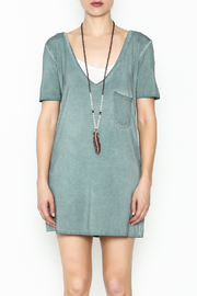 POL Deep V Tee - Front full body