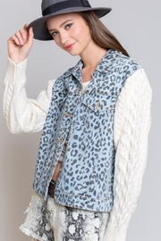 POL Denim And Knit Jacket - Other