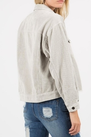 POL Distressed Corduroy Jacket - Side cropped