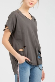 POL Distressed Tee - Front cropped