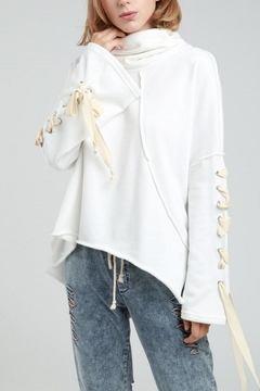 Shoptiques Product: Dolman Sleeve Hoodie