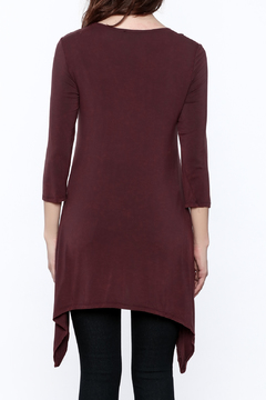 Shoptiques Product: Embroidered Squiggle Tunic