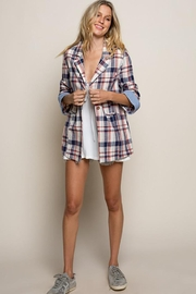POL Flannel Plaid Jacket - Other
